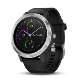 Garmin Garmin Vivoactive 3 Watch, Black/Stainless