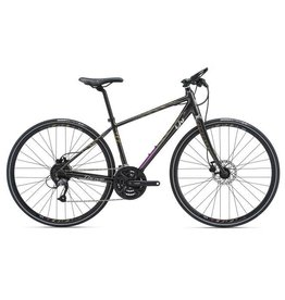 LIV 2018 Liv Thrive 2 Disc SM Dark Charcoal/Lime/Purple