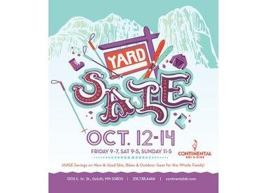 YARD SALE OCT 12-14th