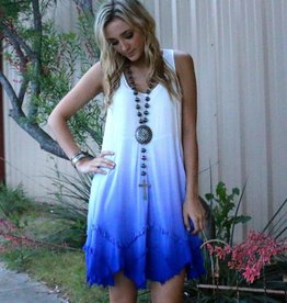 Distressed Ombre Dress