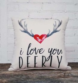 PUNCHYS Love you Deerly Pillow