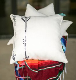 Parallel Arrows Pillow