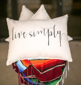 PUNCHYS Live Simply Pillow