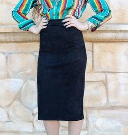 Black Isabella Skirt