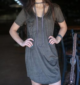 Z Supply Suede Pocket Dress