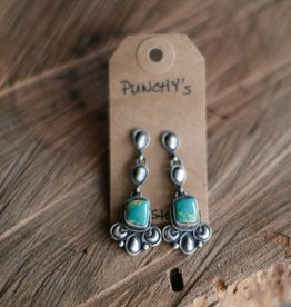 Carico Lake Turquoise Dangle Earring