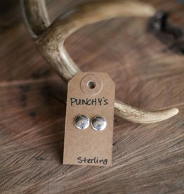 Small Sterling Silver Stud Earrings
