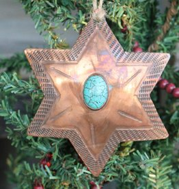 Christmas Ornaments with Turquoise
