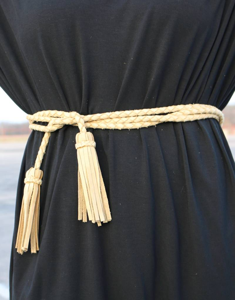 Fringe Soga Wrap Belt
