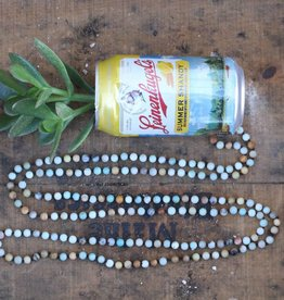 Long Multicolor Beaded Necklace