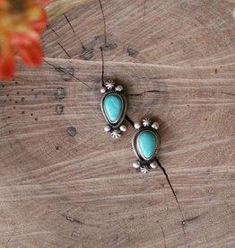 Carico Lake Turquoise Studs