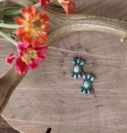 Carico Lake Oval Cluster Studs