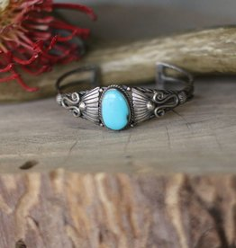 Campetos Turquoise Vintage Cuff