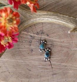 Royston Blue Turquoise Stud