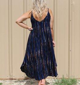 Black Swan Alice Black Iris Spaghetti Strap Dress