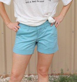 Hampton Comfort Short Tiffany Blue