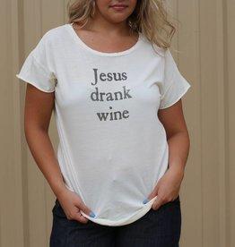 Jesus Drank Wine Tee