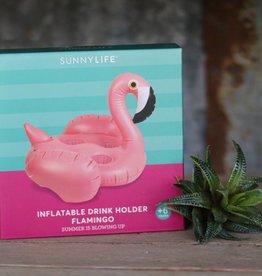 Inflatable Drink Holder Flamingo