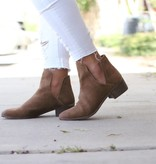 Pronto Suede Saddle Booties