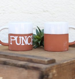 Ceramic and Terra Cotta Mug