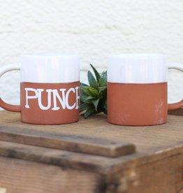 Punchy's Ceramic and Terra Cotta Mug