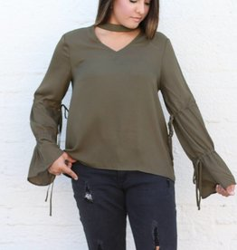 Bell Sleeve Blouse