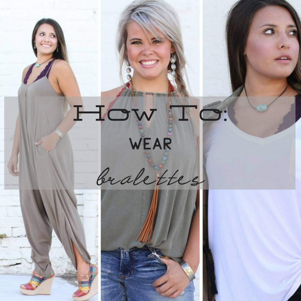CUSS & DISCUSS - How to Wear Bralettes - PUNCHY'S