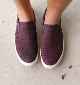 Women's Slip On Leather Sneakers
