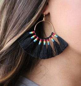 Round Headdress Earring