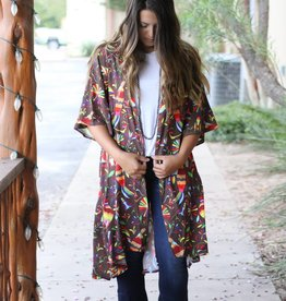 Mexican Otomi Print Duster