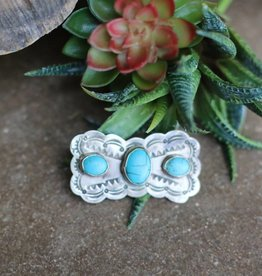Mariposa Pin with Turquoise