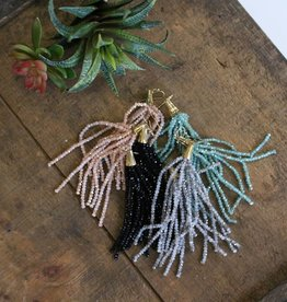 4in Iridescent Tassel Earring