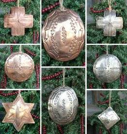 Metal Stamped Ornaments