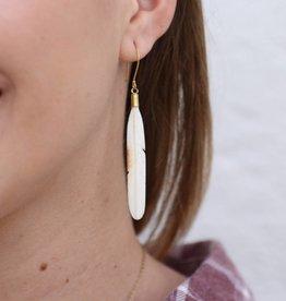 Talisman Feather Earring