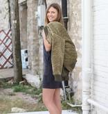 Olive Reversible Bomber Jacket