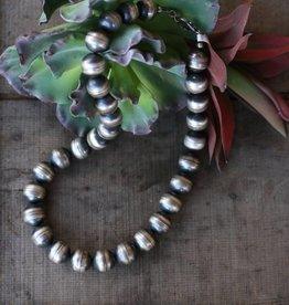 20 cm Navajo Pearl Necklace 24 in