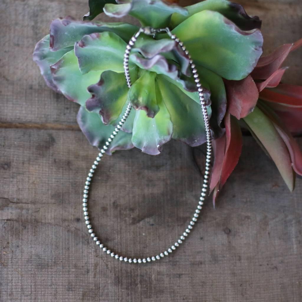 20in Single Strand Navajo Pearls