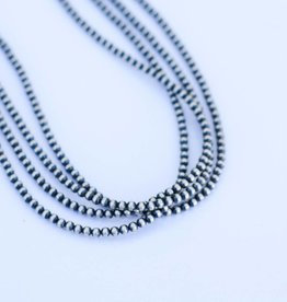 Four Strand Navajo Pearl Necklace 22 in