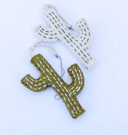 Whipstitch Cactus Ornament