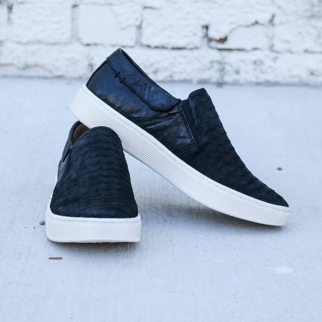Women's Slip On Leather Sneakers