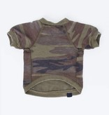 Pet Burnout Camo Pullover