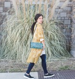 Mustard Lace Duster