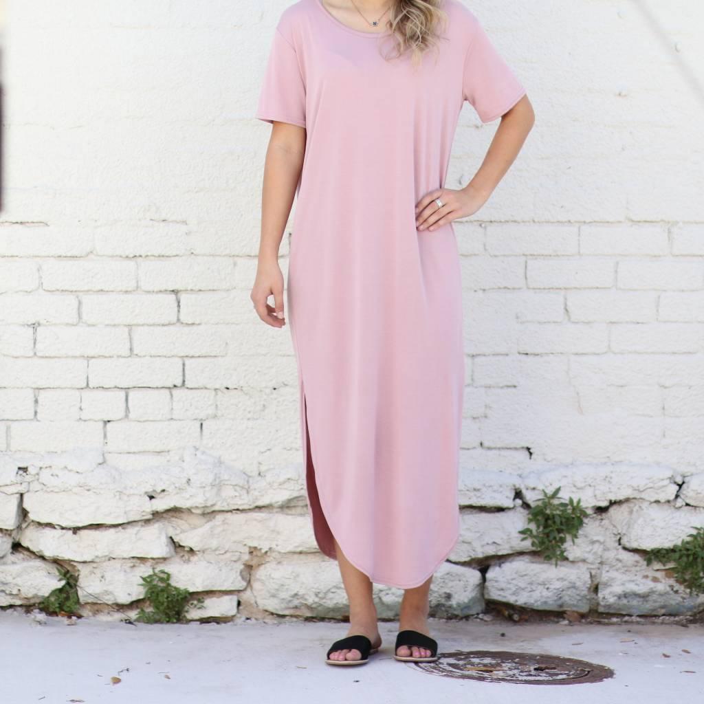 Long Basic Shirtdress