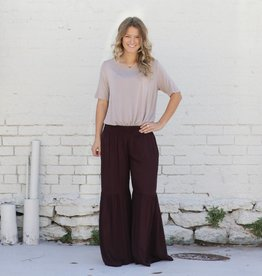 Tiered Palazzo Pant