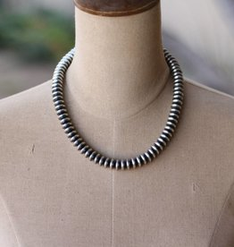 18in Saucer Navajo Pearl Necklace