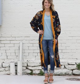Hibiscus Floral Duster