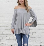 Ruffle Tunic Top