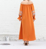 Terracotta Maxi Dress
