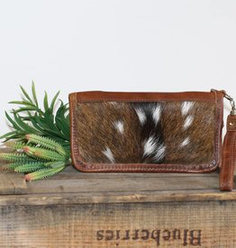 Axis Hair Zipper Wallet