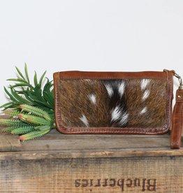 Axis Hair Zipper Wallet